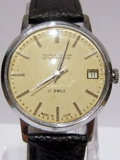 VTG USSR mechanical hand wind up watch POLJOT 17J Beautiful Dial*SERVICED*# 172
