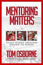 MENTORING MATTERS - OSBORNE, TOM/ CASEY, CAREY (FRW) - NEW PAPERBACK BOOK