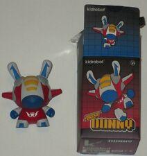"""DUNNY 3"""" KANO FLIGHT RED KIDROBOT DESIGNER VINYL FIGURE TOY LTD 2012 RARE"""