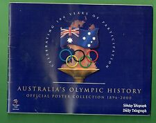 #T43.  2000 SYDNEY OLYMPIC TELEGRAPH NEWSPAPER POSTER COLLECTION