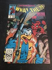 What The-?!#3 Incredible Condition 9.4(1988) Spider-ham, 2-page Mcfarlane Art!