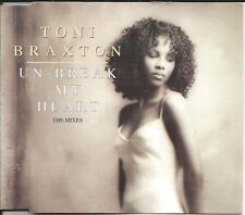 TONI BRAXTON Un Break My Heart AFRICA PRESS RARE MIXES & VOCAL CD single SEALED