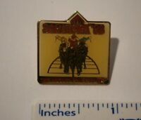 """VINTAGE SARATOGA 1988 PIN """"THE AUGUST PLACE TO BE"""" WE COMBINE SHIPPING"""