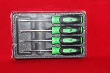 Snap On Tools Mini tip Green Screwdriver  Soft Grip Brand New