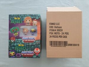 MASTERS OF THE UNIVERSE FUNKO POP PINT SIZE HEROES EMPTY CASE BOX WITH FIGURES