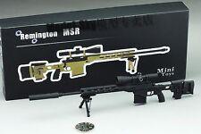 BattleField 1/6 Gun Remington MSR Full Metal Sniper Rifle Black FREESHIPPING