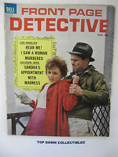 Front Page Detective  Magazine   August 1962   Chicagos Solk Stocking Robbers
