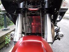 Moto Guzzi Stelvio (16) Stainless Steel Beowulf Radiator Protector Cover M001