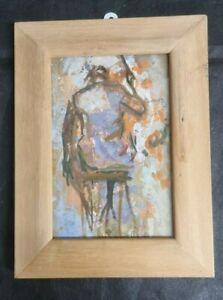 Dorothy Bradford (1918-2008) Framed Signed Oil 'Sir Charles Groves' 2007