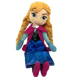 """Disney Frozen Anna Singing Doll Plush 28"""" Large Stuffed Toy Tested Works Gift"""