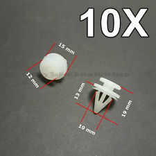 10X Door Card Clips, Door Trim Panel Retainer for Renault