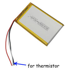 3.7V 4200 mAh Li Polymer Battery 3 wires for thermistor 855085 For GPS Tablet PC