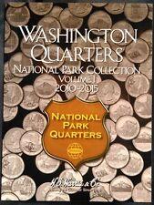 HE Harris National Parks Quarters Volume #1, 2010-2015 Coin Folder Album Book