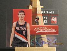 2012-13 Elite Rookie Inscriptions #97 Victor Claver JMC