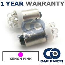 2x XENON ROSA BAX9S H6W 434 LUCI DI POSIZIONE Upgrade 7 TESTATA LED LAMPADINE