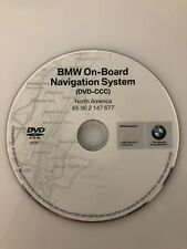 2007 2008 2009 BMW X5 X6 M5 M6 Navigation OEM DVD Map U.S Canada Version 2009.1