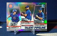 2020 Bowman Chrome Refractor Chicago Cubs Trevor Clifton Roederer Talent Pipelin