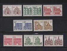 Briefmarken aus der BRD (ab 1948) mit Bauwerks-Motiv als Satz