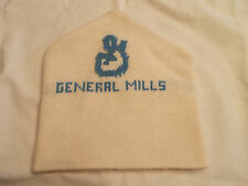 VTG-1980s General Mills Winter Toque Skiing Style Beanie Skull Cap Knit hat
