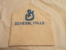 VTG-1980s General Mills Winter Toque Skiing Style Beanie Skull Cap Knit hat