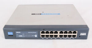 Cisco Linksys RV016 Router, 10/100 16 Port VPN, Works, No power cord