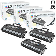 LD © for Brother TN360 3pk Black DCP-7030 7040 HL-2140 2150 2170 7345 7440