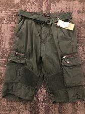 Raw Supply Mens Cargo Shorts NWT Size 34 Green