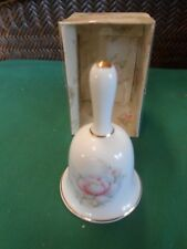 Collectible Bell Summit Collection Bone China Bell.Free Postage Usa