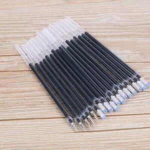 0.5mm Ballpoint Pen Refills Gel Black Ink Refill Writing Pens HOT