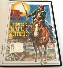 IL RITORNO DI CLINT IL SOLITARIO FILM DVD OTTIMO ITALIANO SPED GRATIS + ACQUISTI