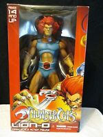 "2011 MEZCO TOYZ THUNDERCATS 14"" LION-O MEGA-SCALE ACTION FIGURE BRAND NEW"