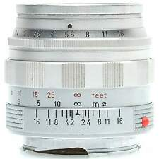 Leica 50mm f1.4 Summilux M Lens with Hood (Silver)