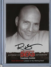 Rus Wooton The Walking Dead Cryptozoic 2013 Series 2 Autograph Auto Card A3