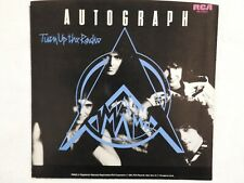 "Autograph ""Turn Up The Radio"" PICTURE SLEEVE! NEW! ONLY NEW COPY ON eBAY!"