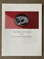 1988 HSV The New Marque Of High Performance original Australian sales brochure