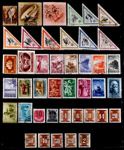 HUNGARY: 1950'S STAMP COLLECTION ARIMAILS & POSTAGE DUES