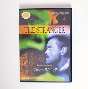 The Stranger Movie DVD Region 4 AUS Free Postage - Thriller Orson Welles