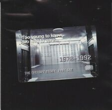 Too Young To Know, Too Wild To Care: The Factory Story Pt. 1 (CD, 1997) GOOD