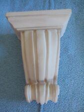 Wall decor courtain rod shelf tan (Reduced