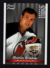 Martin Brodeur 1997-98 Donruss Studio Press Proof 1 of 1,000 *NEW JERSEY DEVILS*
