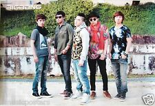 "BIG BANG ""GROUP BY CONCRETE WALL"" POSTER FROM ASIA - Korean Boy Band, K-Pop"