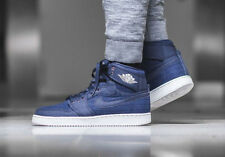 Nike AJ1 KO High OG air jordan one Baskets Montantes Bleu Rétro-UK 9.5 (EU 44.5)