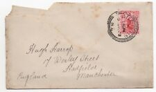 1902 NEW ZEALAND Cover DUNEDIN to HADFIELD MANCHESTER GB SG303