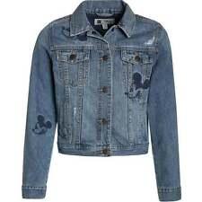 Gap Kids Girl's Disney Mickey Mouse Embroidered Denim Jacket Size XXL 14-16 NWT