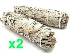 Sauge Blanche Californienne Fagots 11cm, 25-30g - Lot De 2 bâtons - 100% Naturel