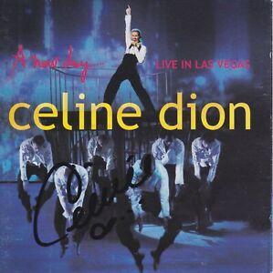 Celine Dion signed A New Day ... live cd