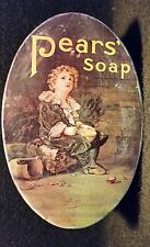 Pears Soap Tin Box Bubbles | Collectible Advertising | Made in England