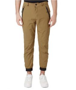 Nike Sportswear Tech Pants Loose Fit Woven Pants Tan Men's 36 Brown