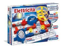 Elettricità scienza e gioco eperimenti Clementoni 13914 Gioco Educativo Nuovo
