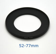 Lens filter adapter ring 52-77mm step-up DSLR Nikon Canon universal professional